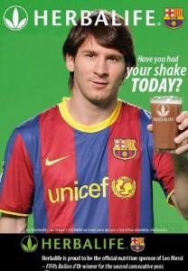 Herbalife Messi