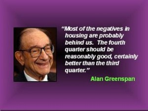 Alan Greenspan quote
